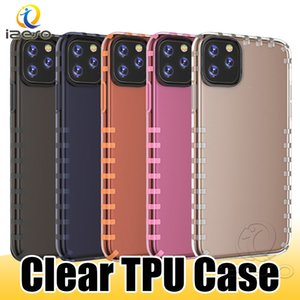 Wholesale For iPhone Pro XS MAX XR X Plus TPU Anti drop Cell Phone Case Light Weight Designer Phone Cover Shell Transparent izeso