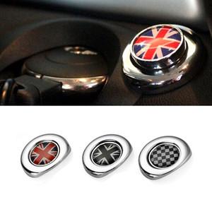 Car Styling Interior Ignition Start Button Sticker For Mini Cooper Countryman Clubman R55 R56 R57 R58 R59 R60 R61 Accessories