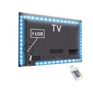 Wholesale led lights for cupboards resale online - RGB light for tv backlight lamp for m m m usb led strips light for Cupboard Wardrobe Cabinet LED Diode TV background lighting