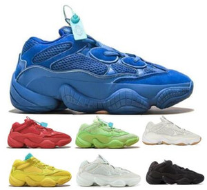 Wholesale Wave Runner Running Shoes Shadow Utility Blue Salt Bone Blush Stone Desert Rat Kanye West Mens Women Designer Trainers Shoes Sneakers
