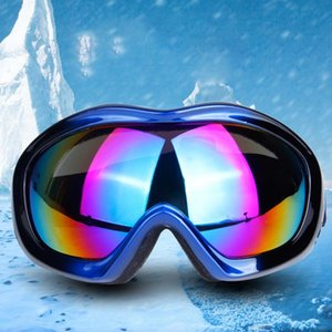 Wholesale Cycling Goggles Single Layer PC UV Protective Lens Windproof Adjustable Sports Skiing Glasses Eyewear