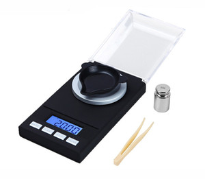 2019 New designer Mini Jewelry Scale 0.001g High Accuracy Backlight Pocket scale For Jewelry Gram Weighting tools smoking accessories