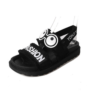 Wholesale Hot Sale Summer Women Shoes Beach Sandals Thick Sole Cartoon Sandals Fashion Young Women Sweet Girls Summer Shoes A767