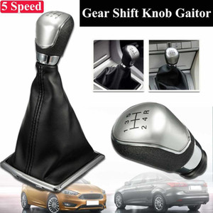 Wholesale gear shift boots for sale - Group buy 5 Speed Manual Gear Shift Knob Shifter Gaiter Boot Cover For Focus