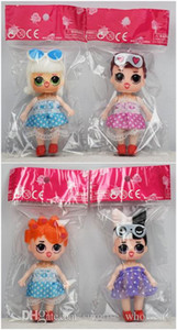 Wholesale lol dolls resale online - LoL Doll Inch PVC Kawaii Children Toys Anime Action Figures Realistic Reborn Dolls For Girls Style Mix