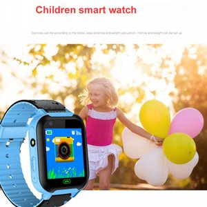 Wholesale Children Smart Watch Camera Lighting Touch Screen SOS Remote monitoring Call LBS Tracking Location Finder Kids Baby Smart Watch