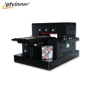 Jetvinner High Speed Automatic A3 Size Led UV Printer Inkjet Printers for Cylinder, Phone Case, Acrylic, Metal, Wood, Ceramic