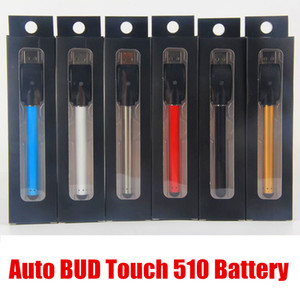 slim e cigarette battery vape batteries 510 buttonless battery bud touch pen 280mah vaporizer for CE3 cartridges With Mini USB Charger 4650