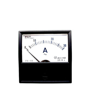 Japan FUJI FS-60 AC ammeter 30A pointer mechanical head on Sale