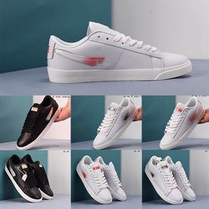 2019Y High Quality Blazer Low LX Jelly Gradient LOGO Mens Womens Designer Sneakers Fashion Brand Running Shoes Flat Casual Shoes Size 36-44