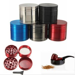 Wholesale 40mm parts SharpStone Tobacco Grinder herb grinder cnc teeth filter net dry herb vaporizer pen colors By DHL free