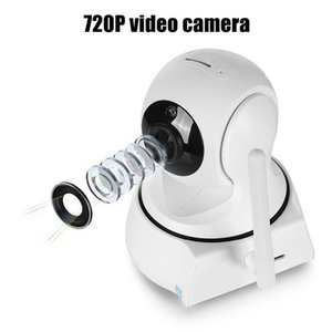 Wholesale 2019 New Home Security IP Camera WiFi Camera Video Surveillance 720P Night Vision Motion Detection P2P Camera Baby Monitor Zoom