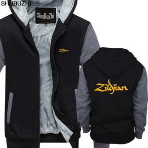 Wholesale ZILDJIAN CYMBALS DRUMS hoody DRUMMER GIUTAR MUSIC TURKISH Hip Hop Simple Splicing Tops warm coat Light sbz128