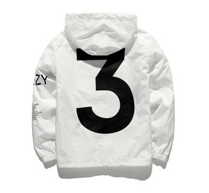 Wholesale Dropshipping New Hot Selling Kanye West Y3 Season Windbreaker Men Women Hip Hop Jacket Fashion Outwear