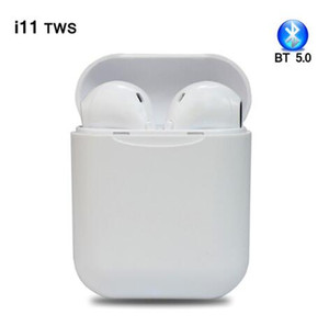 Wholesale Brand New i7s i11 TWS Wireless Earphone Stereo Earbud Bluetooth Headset With Charging Box Mic For All Smart phone iPhone XS Samsung Hot Sell