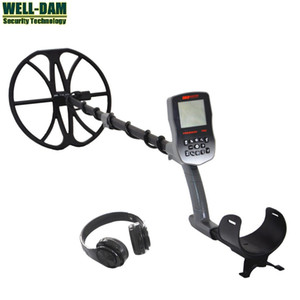 T90 Waterproof Underwater Metal Detector Underground Gold Metal Detector with 12 inch Double-D coil and wireless headphone