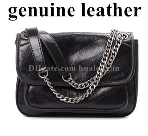 Genuine Leather High Quality Women Messenger Bag Handbag Purse Tote Free shipping Wholesale discount