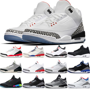 Wholesale Mens jth white cement black cat sport blue charity game chlorophyll tinker hatfield basketball shoes men designer luxury shoes US7