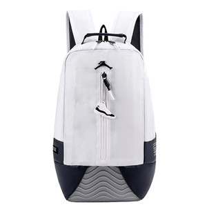 2019 NEW Men and women casual fashion outdoor travel sports backpack A 13 J designer black white leather Portable backpack dual-use backpack