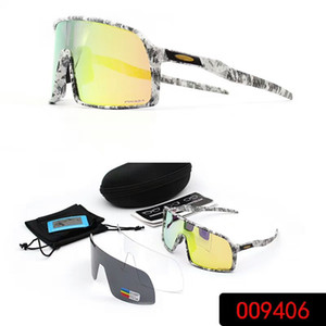 fbd1aa94c03 NEW O9406 Italy Camo polarized Sunglasses three replacement lenses quality  super-light TR90 Frame cycling