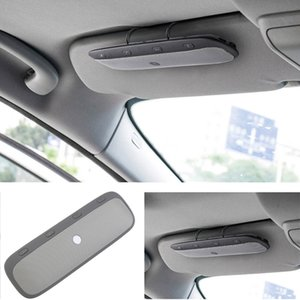 Wholesale Car Kit Bluetooth Speakerphone Handsfree Multinational Wireless SUN Shield USB Multipoint Auto Speaker Phone Hands Call FREE