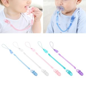 Wholesale Baby Infant Toddler Dummy Pacifier Spring Soother Nipple Clip Chain Holder Strap