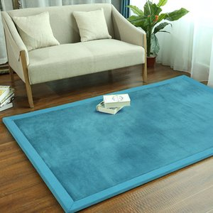 Wholesale mats for living room resale online - Mats For Living Room Bedroom Parlor Soft Carpet Floor Rug Kids Room Mat Living Room Rugs Baby Pad Bedside Mat High Quality