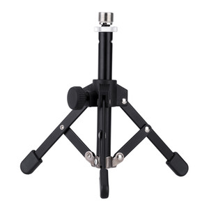 Andoer MS-12 Mini Tripod for Microphone Mic Foldable Desktop Tabletop Tripod Microphone Mic Stand Holder High Quality