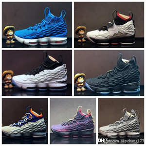HQ mens 15 Basketball Shoes 15s advanced knit gold black dark grey blue fashion men sneakers basketball tranning boots size 40-46