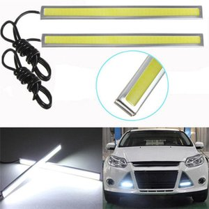 17 CM Universal Driving Light Waterproof Car LED COB Fog Light Auto Daytime Running Lamp LLA44
