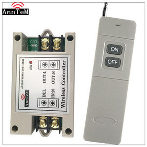 Wholesale Anntem Rf ch Long Range mhz Universal Wireless Remote Control Switch Ac220v High Power Relay Receiver transmitter For Door J190523