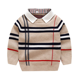 Wholesale year baby boys clothes for sale - Group buy Boys Sweatershirt Autumn Winter Brand Sweater Coat Jacket For Toddle Baby Boy Sweater Year boys Clothes