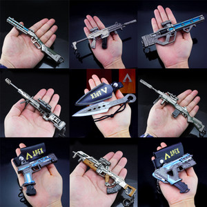 novo jogo de arma venda por atacado-Novo Apex Legends Game Battle Royale Ação Figura Gun Modelo cm Liga de Liga Apex Legends Keychain