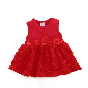 Wholesale children's clothing princess dress baby skirt summer baby children's summer dress baby dress on Sale