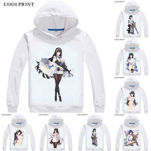 Wholesale Type Qbz Mens Hoodies Girls Frontline Girls Doujinshi Anime Sweatshirt Streetwear Custom Hoodie Costume Hooded