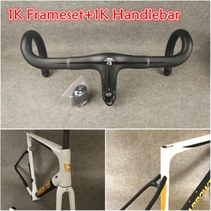 56 colors T1100 1K Matte Glossy CARROWTER carbon road frames front fork seatpost headset small parts 1K Talon Handlebar free shipping