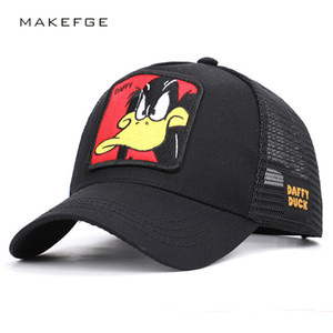 Wholesale Baseball Caps Animal Duck Anime Cute Rabbit Embroidery for Women Men Outdoor Dad Truck Driver Dad Hat