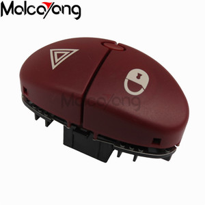 Wholesale hazard switch for sale - Group buy 6554 L0 Red Pin flasher switch for peugeot JK hazard switch for Citroen