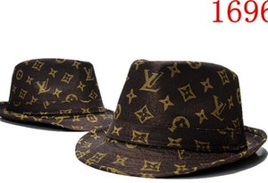 5b178dcd313 Wholesale Brand Designer Cotton Letter Bucket Hat For Mens Womens Foldable Caps  Black Fisherman Beach Sun
