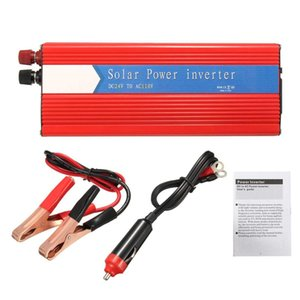 Wholesale 3000W Inverter Transformer Sine Wave To AC USB Voltage Inverter Power Supplies Solar Power Intelligent Converter