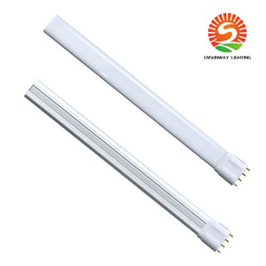 Wholesale pl resale online - 2G11 Base LED Light Bulb LED PL L Lamp Pin Base LED Retrofit Tube Lights Fluorescent Lighting Replacement Remove or Bypass Ballast