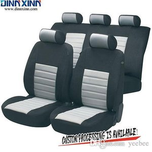 Wholesale DinnXinn TY041 Cadillac 9 pcs full set sandwich luxury leather car seat cover Export company China