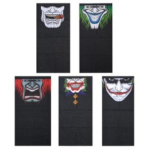 Wholesale Windproof Skull Mouth Mask seamless magic bandanas outdoor sports washouts ride muffler scarf face mask