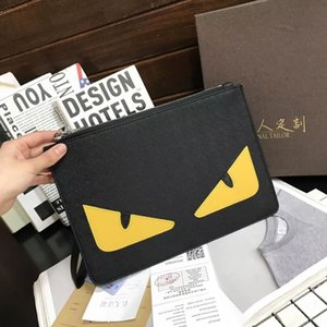 Wholesale Quality Hand bag Men and women large capacity folder business handbag casual envelope bag handbag men s clutch bag Multi funcito handbags