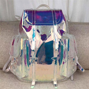 new!Large color fashion shoulder bag, large size design, super capacity, rainbow tone, very bright, necessary for travel