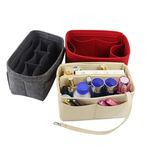 Purse Organizer Insert Felt Bag organizerwith zipper Handbag & Tote Shaper For Speedy Tote 4 Sizes Luxury Purse Organizer