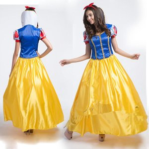 2019 Sale Royal Blue And Yellow Satin Dresses For Cosplay Party Short Sleeves Plus Size Custom Made Formal Evening Occasion Dancerwear Cheap on Sale