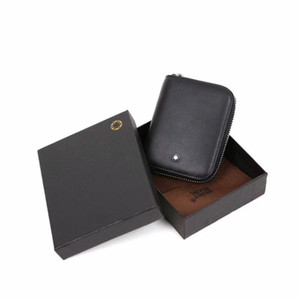 Wholesale Fashion Classic Design Men s Wallet Genuine Leather Zipper Male Short Coin Purse Pockets Fine Gift For Card Holder High Quality For Mens