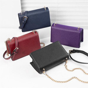PU Leather Designer One Shoulder Bags Chain Bag Women KS Crossbody Bag Fanny Pack Wallets Elegent Dinner Party Mini Handbags Totes C72605