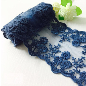 Wholesale Vintage Style Embroidered Lace Trim Lace Ribbon x Yards with Scalloped Edge for DIY Craft Sewing Home Improvements Bridal Dress